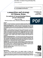Chinee Cos Strategy