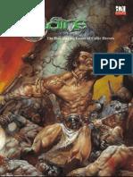 d20 Sláine the RPG Of Celtic Heroes