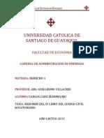 Tutoria CODIGO CIVIL Libro IV - Carlos Lara