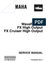 Yamaha FX HO Service Manual
