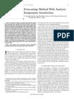 Hybrid Load Forecasting Method With Analysis Od Temperature Sensitivities