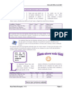 Examen de Microsoft Office Word 2007