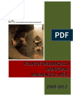 PDM 2009-2012 MALINALCO
