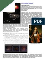 Teori Terciptanya Tata Surya
