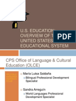 U.S. Educational System PPT