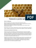 Tratamente cu produse apicole