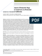 Effects of Management of Domestic Dogs