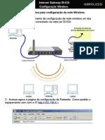 Configuracao Wireless