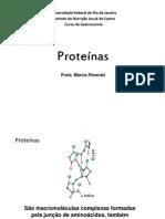 Aula 3 - Proteínas. alunos