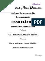 HISTORIA CLÍNICA caso clinico PERIOdoncia