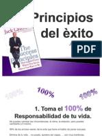 Principios del èxito
