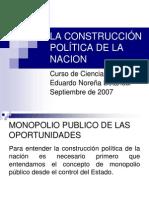04. Construccion Politica de La Nacion