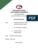 TAREA DE ANTROPOLOGIA FILOSÓFICA