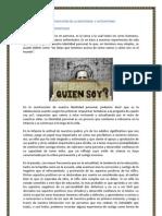 CONSTRUCCIÓN DE LA IDENTIDAD  Y AUTOESTIMA