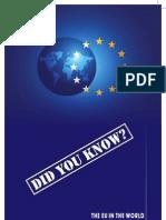 European Union in the World Brochure