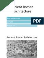 History of Roman Architecture