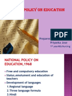 National Policy on Education 2