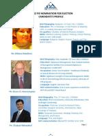 FIE Candidate Profile 2012