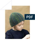 Boy's Vision Crocheted Hat