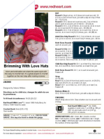 Brimming With Love Hats