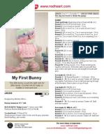 Bunny My First Crochet Doll