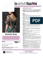 Butterfly Wrap Top