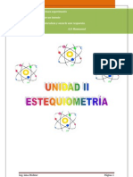 Unidad II. Estequiometria