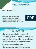 TIPOS DE LECTURAS FUNDAMENTACIÓN TEÓRICA PRACTICA