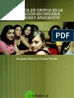 Juan Manuel Canas Tirado Dinamica de Grupos en La Educacion Sec Und Aria