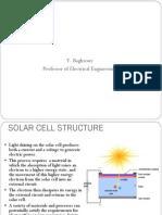 Solar Cell Shading