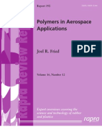 Polymers in Aerospace Applications - 1847350933 - Ismithers Rapra Publishing