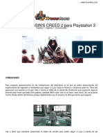 Guia Trucoteca Assassins Creed 2 Play Station 3