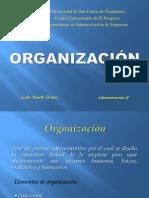 ORGANIZACIÓN 1.0