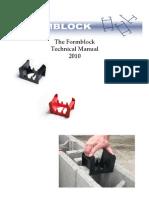 Formblock Tech Manual 2010
