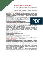 7CLASIFICACIÓN DE LOS PAPELES DE TRABAJO