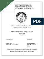 Project Guidelines BFT VI 2007- Purva Jain