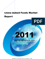 China Baked Foods Market Report