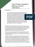 Closing the Gap of health inequalities between Indigenous and non-indigenous Australians