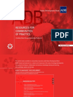 ADB Resources for Communities of Practice