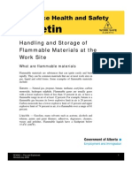 Handling of Flammable Liquid
