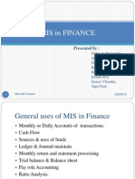 MIS Finance