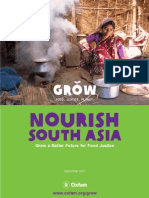 OXFAM - Nourish South Asia Report 10-11-11