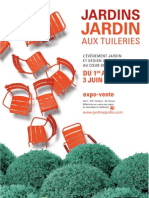 Jardins Jardin 2012 - dossier de presse