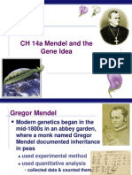 B. CH 14a Mendel and the Gene Idea