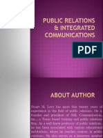 Pr and Integrated Comm