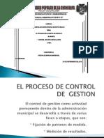 A El Proceso de Control de Gestion