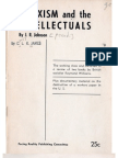 CLR James - Marxism And the Intellectuals (1962)