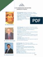 Candidate Profile 2012