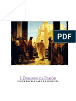 I DOMINGO DE PASIÓN-homilia