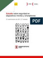 Estudio sobre seguridad en dispositivos móviles y smartphones, 2º cuatrimestre de 2011